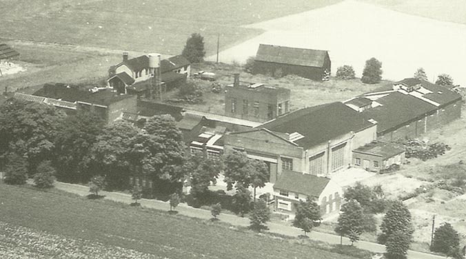 Expansion of the company buildings in 1979 - plant II